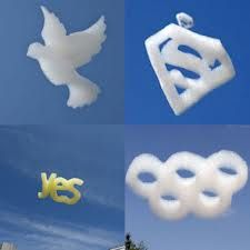 Custom Shaped Logo Clouds